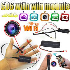 S06 HD 1080P Android IOS iphone DVR WIFI Wireless DIY Camera Module S