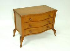 Unusual Wooden Box Casket Tin Dresser