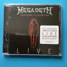 MEGADETH - Countdown To Extinction - LIVE CD *NEW & SEALED*