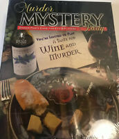 Murder Mystery Party A Taste for Wine and Murder Adult Dinner Board Game NEW