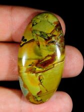 48 CT LOVELY NATURAL DESIGNER AMERICAN OWHYEE JASPER OVAL CABOCHON GEMSTONE B52