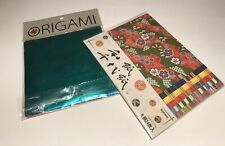 Origami Paper Foil Papers & Decorative Arts Crafts Folding New 2 Packages
