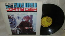 JOHNNY CASH SUN LP 1270 ALL ABOARD THE BLUE TRAIN 1ST PRESS E+