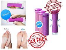 Emjoi 4 Refill Rollers Micro Mineral Rollers Pedi Xtreme Coarse Remove Feet Skin