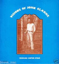 JOHN CLARKE-visions of john clarke   wackies LP  (hear) original pressing reggae