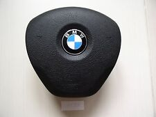 BMW ORIGINAL 1 F20 2 F22 3 F30 BLACK STEERING WHEEL AIRBAG SRS w/wire NON sport