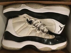 Nike Retro Air Jordan 11 Concord 2011 Worn Size 13 378037-107