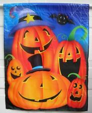 LARGE 28 X 36 HALLOWEEN PUMPKINS FLAG WITH BAT REALLY COOL NEW FREE SHIPPING