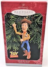 "New in Box Hallmark ""Woody the Sherrif"" Disney's Toy Story Christmas Ornament"