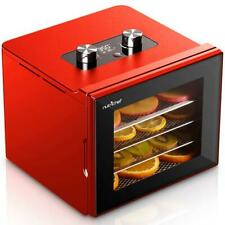 NutriChef  NCDH4S Electric Countertop Food Dehydrator Machine with Digital Timer