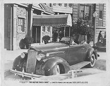 PACKARD CONVERTIBLE COUPE original 1940 movie publicity b/w photo LORETTA YOUNG