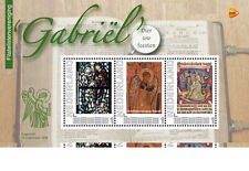 PZV Gabriel 65 jaar; velletje van 3  postfris