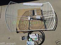 ALFA WiFi Ant 24dBi GRID + AWUS036NH Super Long Range Booster GET FREE INTERNET