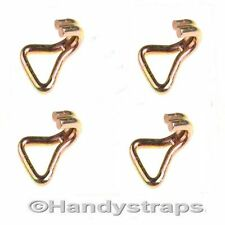 4 x 50 mm Claw Hooks for Webbing & Ratchet Straps Lashing Tie Down Transport