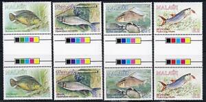 MALAWI 1989 FISH (gutter pairs) MNH CV$28.50 MARINE LIFE