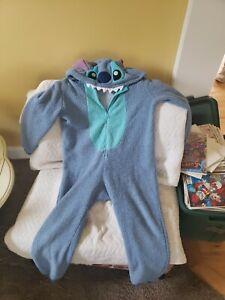 Disney Lilo & Stitch Youth Medium Stitch Costume One Piece Pajama