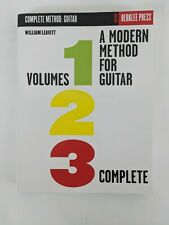 A Modern Method for Guitar Vol 1 2 3 Lessons Berklee College of Music Book