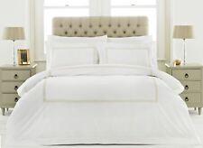 100% Baumwolle 200tc Weißgold Kette Super King Bettbezug