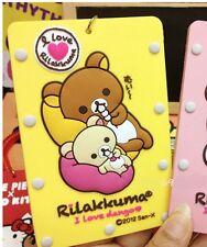 San-X Rilakkuma ID /DL /Metro /business /Pass Card Case /Travel Name Tag -Yellow