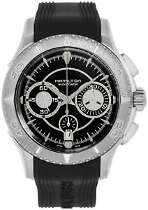 Hamilton Jazzmaster Seaview Automatic Chronograph Rubber Men's Watch H37616331