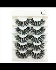 False Eyelashes Cheap False Eyelashes 5 Pairs 3D Faux Mink Hair Soft False.