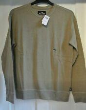 New Hollister Mens cotton rich Sweatshirt Light brown S