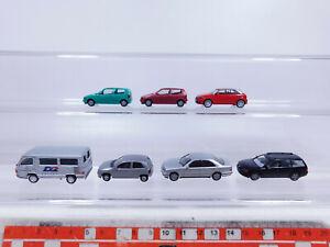 CP276-0,5 #7x Herpa H0 / 1:87 Model : Opel Corsa + Audi A1 + VW Polo Etc. ,VG