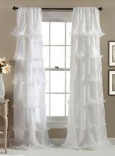 Lush Decor Nerina Window Curtain 84 by 54-Inch White