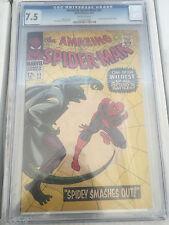 Amazing Spiderman #45 CGC 7.5 Stan Lee John Romita Sr The Lizard free shipping