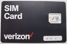 Verizon Sim card •Lg V60 ThinQ 5G Lg Velvet 5G Lg Stylo 6 Lg K51 - Read Inside