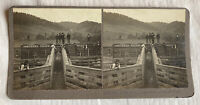 Good-Bye, Uncle Sam – Butte Montana – N.A. Forsyth Early 1900s Stereoview Slide