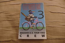FLEETWOOD MAC CREW PASS UNUSED 1982 USA