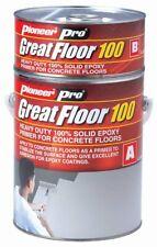 GreatFloor-100, epoxy flooring, primer or top coat in different colours