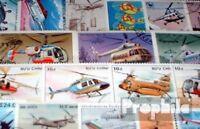 Motive 25 verschiedene Hubschrauber Marken