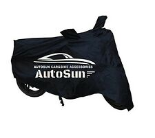 AutoSun Premium Quality Bike Body Cover Black For Hero Super Splendor