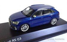 1/43 AUDI RS Q3 COLOR AZUL SCHUCO DIECAST MODEL CAR COCHE METAL ESCALA