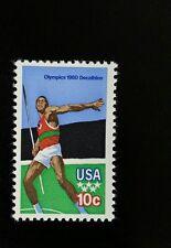 1979 10c Olympics - Decathlon, Javelin Scott 1790 Mint F/VF NH