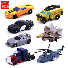 1set of 7 Transformers Bumblebee Robots Optimus Prime Vehicles Autobots Toy Gift