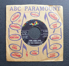 "7"" The Five Americans-Love, Love, Love/Show Me-US ABC Garage"