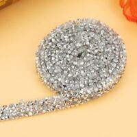 10Yard/Pack Diamond Mesh Wrap Roll Crystal Rhinestone Bling Ribbon Wedding Decor