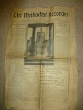 Original Newspaper The Methodist Recorder Dated May 7th 1942 PLEASE SEE SCANS