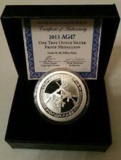 2nd amendment AG47 1 oz .999 silver shield Proof AK47 AR15 gun hunter second