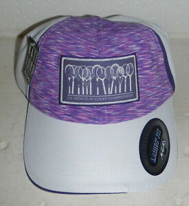 NWT US Mens Clay Court Championships Tennis Tournament Logo Baseball Hat Cap