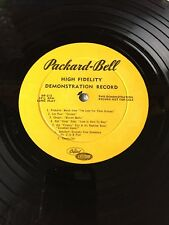 Various - Packard Bell High Fidelity Demonstration Record Capitol W/ Etching
