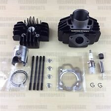 Cylinder Barrel Kit Yamaha PW50 60cc Big Bore Head Piston. PY QT PW 50 60 cc