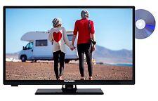 "Telefunken XH24A101VD LED Fernseher mit DVD 24"" Zoll 61cm TV HD DVB-T2/C/S2 CI+"