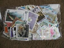 used world stamp mix (500 off paper) lot 21