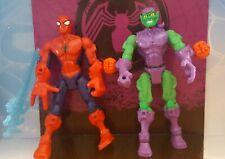 Marvel / Hasbro - Superhero Mashers - Green Goblin & Spider Man - Action Figures
