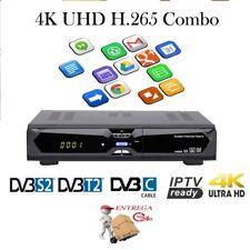 Decodificador HYPRO Android 4K UHD DVB-S2 DVB-T2 IPTV
