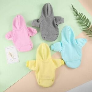 with Hat Pocket Jacket Puppy Coat Dog Clothes Cat Dog Hoodie Pet  Apparel